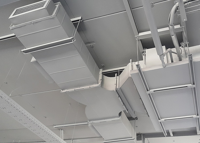 Go Health Gym – AC Duct Installation – Durban North