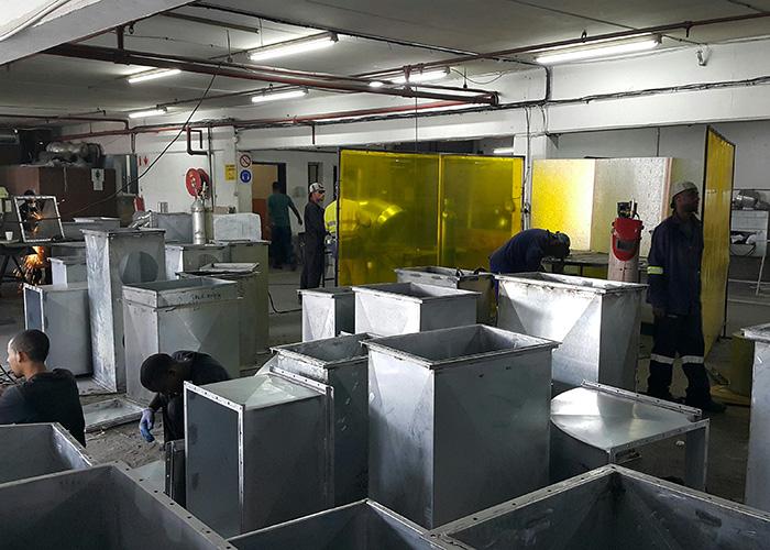 Mpact Felixton – Paper Mill Ventilation Ductwork