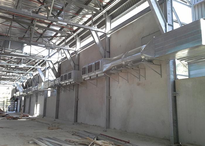 Durban Waist Recycle Centre – Ventilation Installation