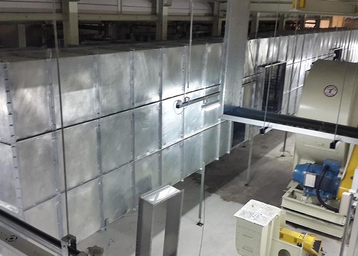 Toyota Quantum – Paint shop Ventilation